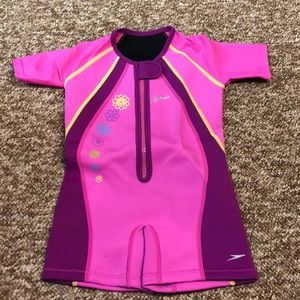 Speedo wet suit 3t